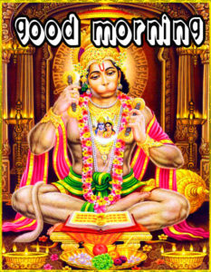 God Good Morning Images With Lord Hanuman JI