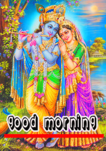 God Good Morning With Krishna