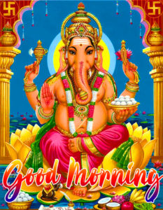 Lord Ganesha God Good Morning Images Free