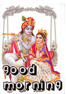 God Good Morning Images Download With God Krishna
