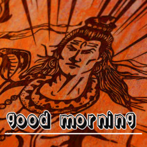 God Good Morning Pics Wallpaper With Shiva Ji