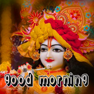 Radha Krishna 3d God Good Morning Images