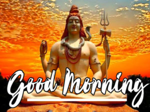 God Good Morning Photo With Shiva Free Download