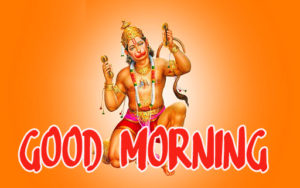 God Good Morning Photo With hanuman Ji