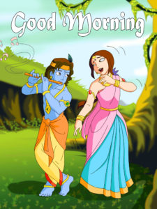 Radha Krishna Good Morning Images 18