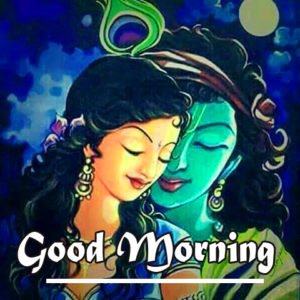 Radha Krishna Good Morning Images 38