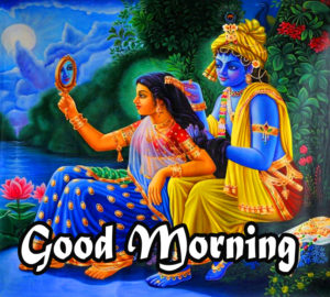 Radha Krishna Good Morning Images 50