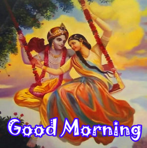 Radha Krishna Good Morning Images 54