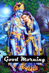 Radha Krishna Good Morning Images 55
