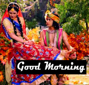 Radha Krishna Good Morning Images 59