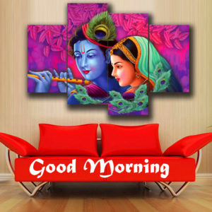 Radha Krishna Good Morning Images 72