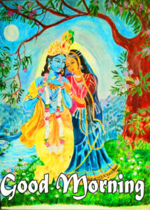 Radha Krishna Good Morning Images 73