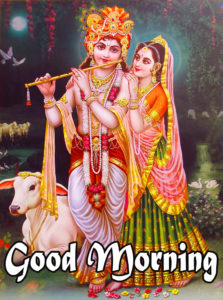 Radha Krishna Good Morning Images 75