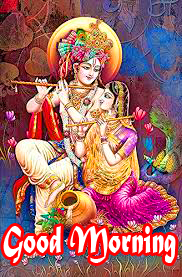 Radha Krishna Good Morning Images 87