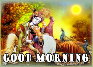 Radha Krishna Good Morning Images 95