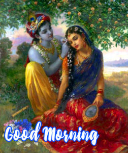 Radha Krishna Good Morning Images 97