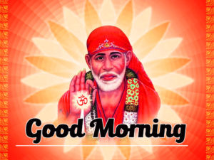 Sai Baba Good Morning Wallpaper 13
