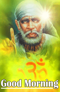 Sai Baba Good Morning Wallpaper 84