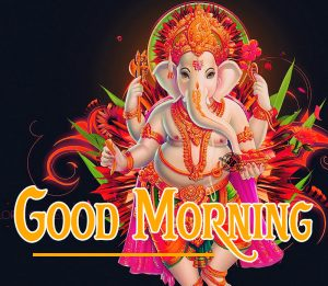 god good morning Images With Ganesh Ji