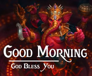 Lord Ganesha god good morning Images