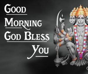 god good morning Images With Hanuman Ji