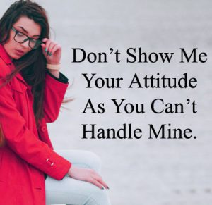 Attitude Girl Wallpaper 2