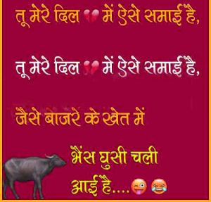 Hindi Funny Status Images 90
