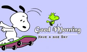 Snoopy Good Morning Images Pics Wallpaper Free Download