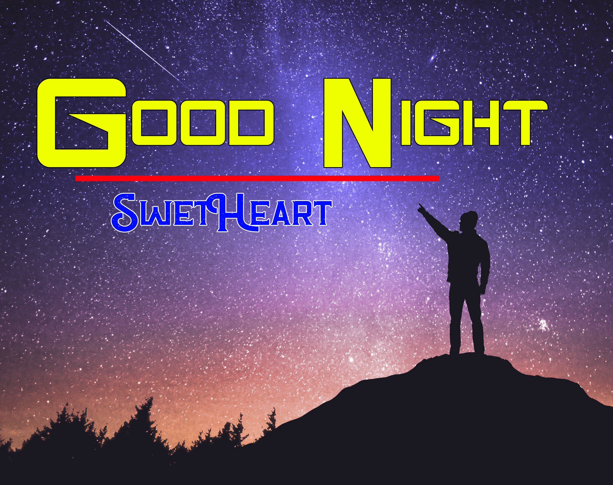 Good Night Images for Lover Couple , Romantic Good Night Wishes Download