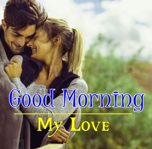 Romantic Love Couple Good Morning Images 1