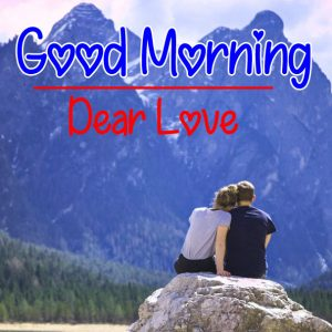 Romantic Love Couple Good Morning Images 4