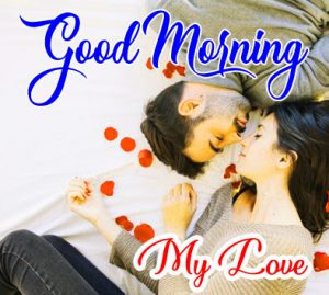 Romantic Love Couple Good Morning Images 5