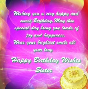 Happy Birthday Images For Sister 17