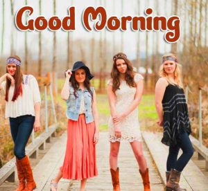 Best Good Morning Group Images Wallpaper With Beautiful Girls